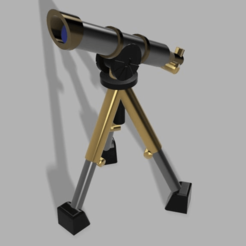 Telescope_16mm_Reinforced_Assembly_v1.png Download free STL file Telescope, field use • Design to 3D print, the23flavors