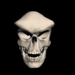 alien skull01.jpg Download STL file alien skull • 3D printable design, rambit97