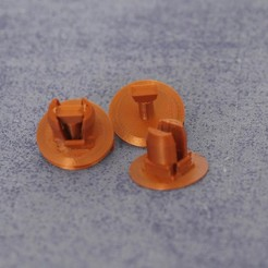 Download 3D printing designs car clips, rambit97