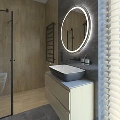 Télécharger modèle 3D Deux magnifiques salles de bains et douches intérieures, 3daudrius