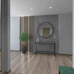 Download free STL Spacious hallway, 3daudrius