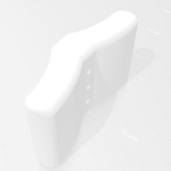 prise double.png Download STL file double-grip climbing grip • Design to 3D print, MartinChombart
