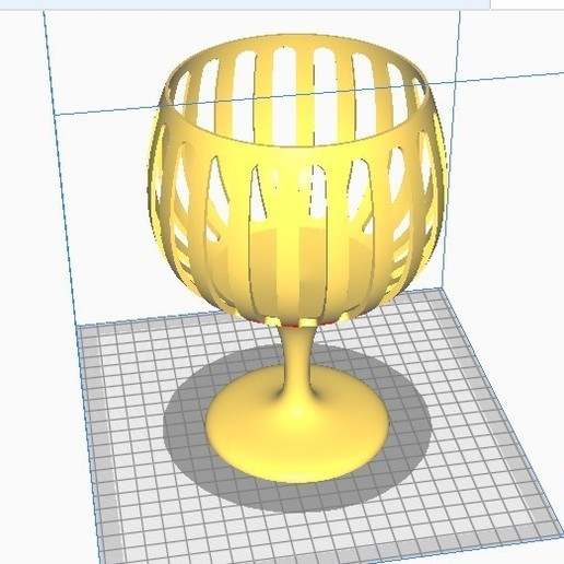 Nowy-2.jpg Download free STL file A glass of sweets • Object to 3D print, ombre-gringo