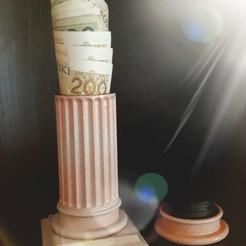 Download STL file Money Box • Design to 3D print, ombre-gringo