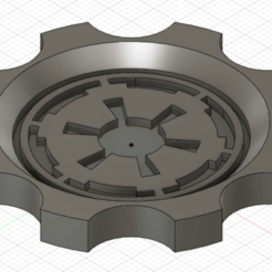 Download free 3D printing designs jc0rn star wars imperial logo maker coin, jc0rn