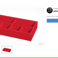 Download free STL file Montessori Stamp Game Organizer Box • 3D print model, jc0rn