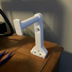 image1.jpeg Télécharger fichier STL gratuit Porte-bobine à vis de base (convient aux bobines standard de 1,75 mm et de 1 kg) • Plan pour impression 3D, JayMull420