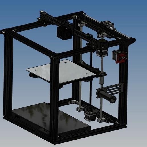 Download free 3D printer designs ENDER 5 in 3D, Rico38