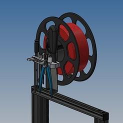 Descargar modelo 3D gratis Soporte de la herramienta Creality Ender 3, Rico38