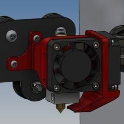 Support ventilateurs version 6 (image 5).jpg Télécharger fichier STL Support ventilateurs Ender 3 • Design pour impression 3D, Rico38