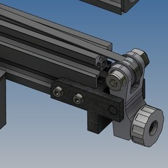version 2...jpg Download STL file Y-axis tensioner (version 2) for Ender 3 • 3D printable model, Rico38