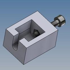 Extracteur poulie.jpg Télécharger fichier STL gratuit Extracteur de poulie moteur pas à pas Ender 3 • Design imprimable en 3D, Rico38