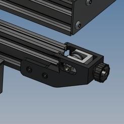 Tendeur axe X version 4 ender 3 - 2.jpg Download STL file Y-axis tensioner (version 4) for Ender 3 • 3D print design, Rico38