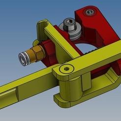 Sans titre 5.jpg Télécharger fichier STL Ender 3 / 5 - Tendeur extrudeur - amélioration • Plan pour imprimante 3D, Rico38