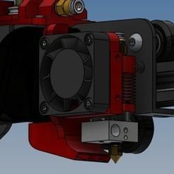 Supports ventilateurs 5015-3.jpg Télécharger fichier STL Support ventilateurs Ender 3 version 2 • Objet pour impression 3D, Rico38