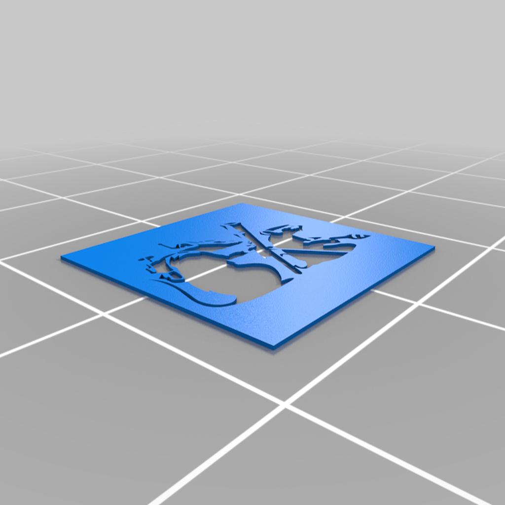 Bterror.png Télécharger fichier STL gratuit Pochoir de la terreur du rat Banksy • Plan à imprimer en 3D, manuel666