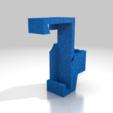 reloj.png Download free STL file Alfawise u30 micrometer holder • 3D printer model, manuel666