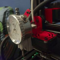 Download free STL file Alfawise u30 micrometer holder • 3D printer model, manuel666