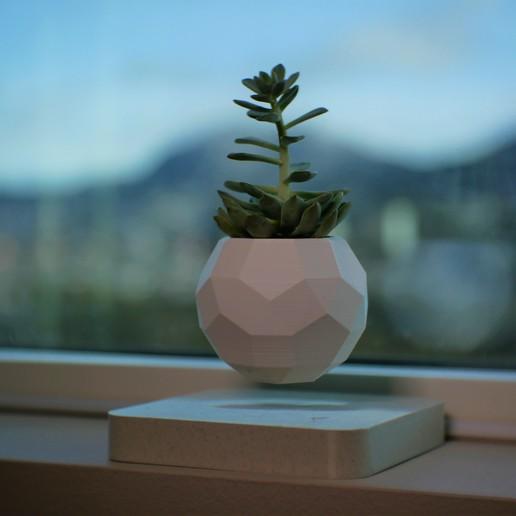 Télécharger plan imprimante 3D gatuit Planteur en lévitation, Ananords
