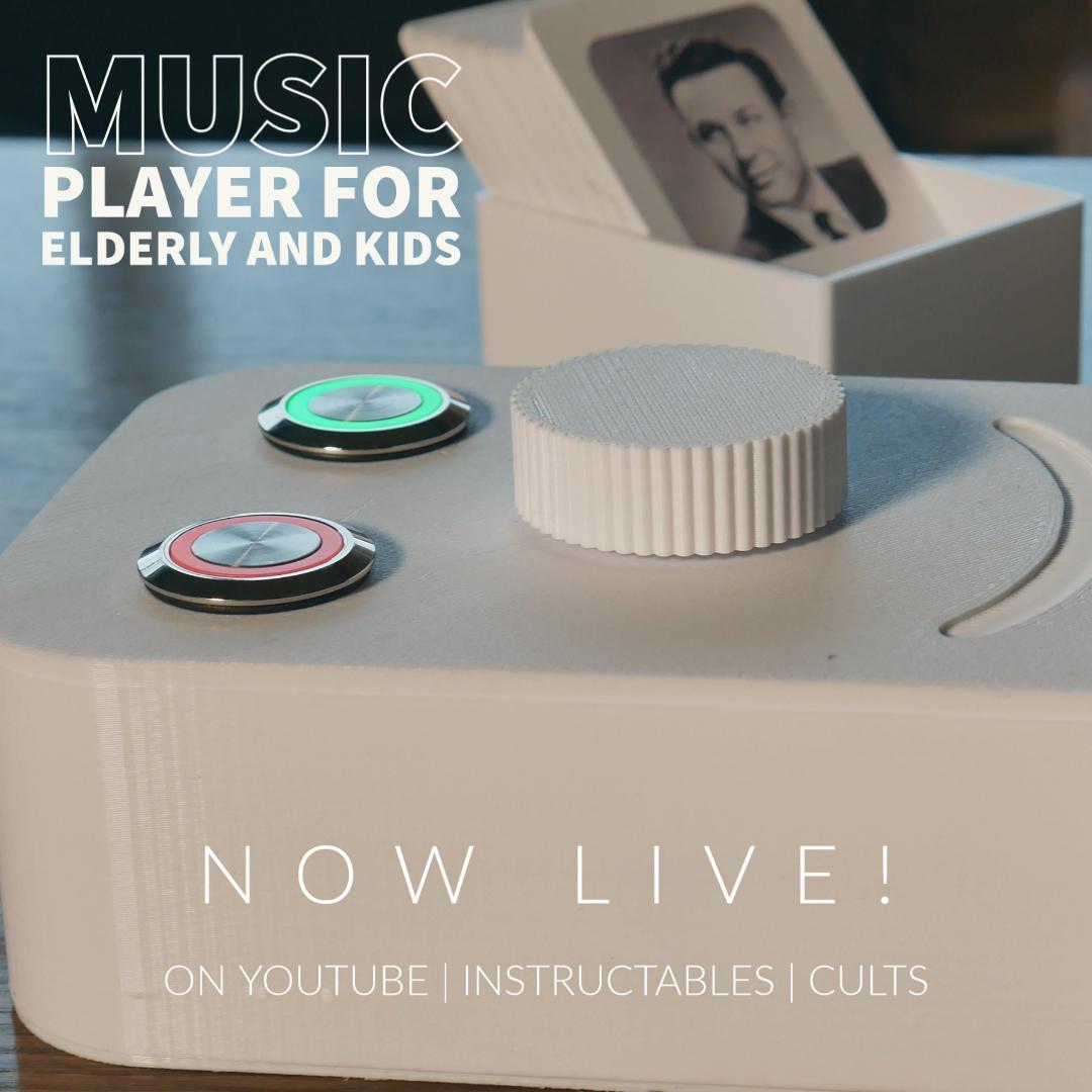 Mitt innlegg(1).jpg Download free STL file JUUKE - RFID Music Player • 3D printable design, Ananords