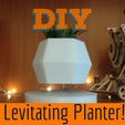 Download free STL file Mini Floating Planter • 3D printing design, Ananords
