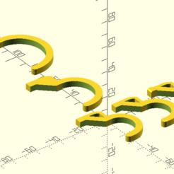 Download free 3D printing files Parametric Ikea Skådis Pegboard Accessories, francoispolito