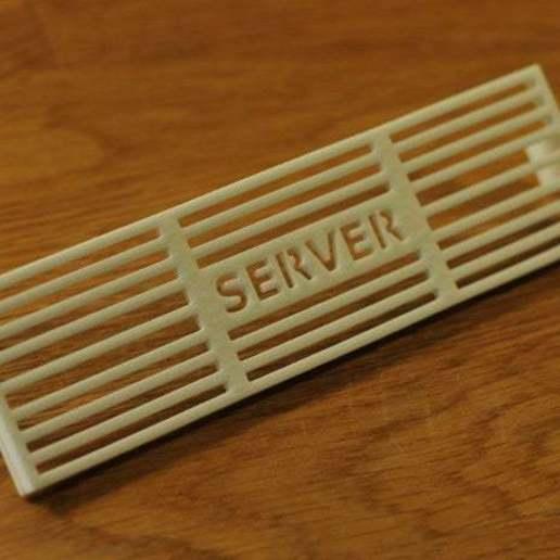 CANSAVC_02.JPG Télécharger fichier STL gratuit Couvercle de ventilation à fente NSK2400 de Custom Antec • Design pour impression 3D, francoispolito