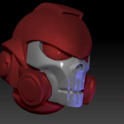 Download free STL file Reiver Skull Helm • 3D printable object, Spig