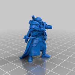 Télécharger fichier STL gratuit Prêtre Ministorum - Autogun et Laspistol • Design pour imprimante 3D, Spig
