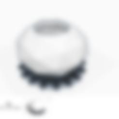 Download free 3D print files POT DE FLEUR /flower pot/ Home/decoration/ Lifestyle/geometric exotic exotic geometric artistic twisted geometric vase VASE ART octagon 8 sides support sober futuristic beautiful, Mathias_Cst07