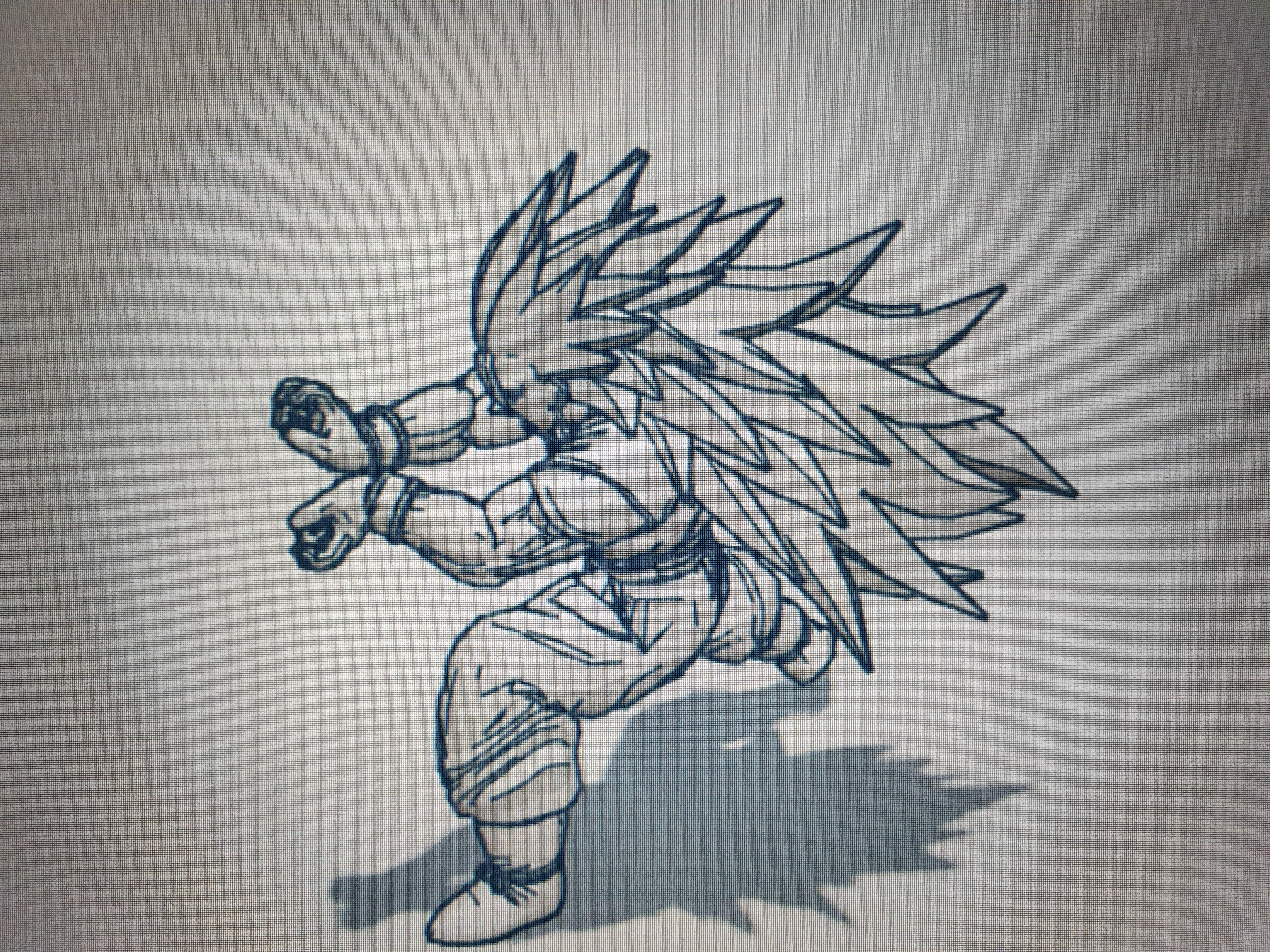 20200410_184557.jpg Télécharger fichier STL gratuit GOKU DRAGON BALL FIGURINE MANGA ANIME DRAGON BALL Z • Modèle à imprimer en 3D, Mathias_Cst07