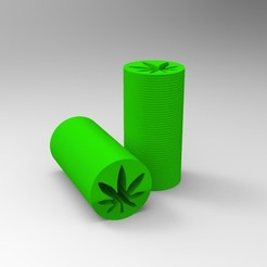 untitled.258.jpg Download OBJ file Reusable Cannabis Filter (flat model) • 3D printable template, Apolo11