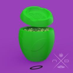cenicero 5.jpg Télécharger fichier STL Cendrier pour mégots de cigarettes/marijuana • Modèle à imprimer en 3D, Apolo11