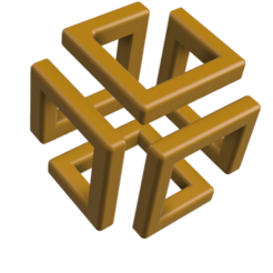 25index.png Download OBJ file 3D picture Labyrinth/ maze cube • 3D printable model, leopa89m