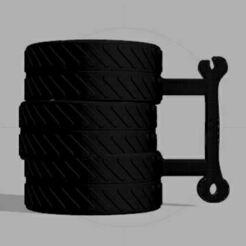 34g.JPG Télécharger fichier OBJ Tire Cup / tire cup/ coupe de pneu • Modèle à imprimer en 3D, leopa89m