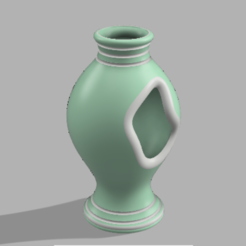 01.PNG Download OBJ file Beautiful Perforated Cylindrical Vase / Joli vase cylindrique Perforé • Design to 3D print, leopa89m