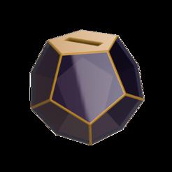 24c.png Télécharger fichier OBJ Tirelire pentagonale 3D • Design pour imprimante 3D, leopa89m