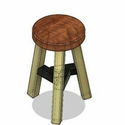 17.JPG Télécharger fichier OBJ Banc / chaise / chaise pour l'aménagement. • Objet pour impression 3D, leopa89m