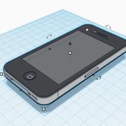 Télécharger fichier imprimante 3D apple Iphone 4 - taille réelle  , CharlesMakerL