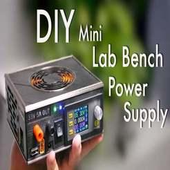 Untitled_Artwork.jpg Download free STL file DIY Mini Variable Lab Bench Power Supply • Template to 3D print, ellisdrake21