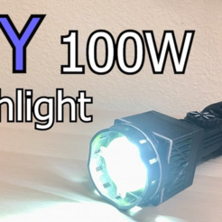 Adobe_Premiere_Pro_CC_2018_-_K__Videos_Projects_WIP_DIY_100W_flashlight___2018-08-29_10_43_35_PM.png Download free STL file DIY 100W Flashlight • 3D printer object, ellisdrake21