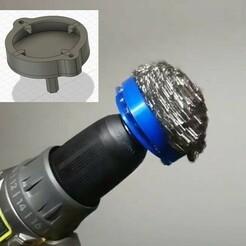 139280894_225269772526251_4854232614571154450_n.jpg Download STL file Ryobi Stain Scrubber 9000 • Design to 3D print, thunderstorm