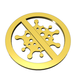 Download 3D printer templates STOP coronavirus COVID-19, made_by_hands