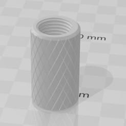 Download 3D printer model Gardena sprayer extension pipe fitting, F12bof