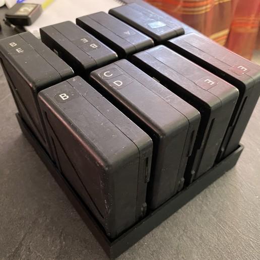 Télécharger fichier impression 3D gratuit rangement TB50 DJI inspire 2, savinkevin