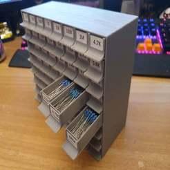20190930_200054.jpg Download free STL file resistor storage drawers • 3D printing template, 3D_Printing_Athens