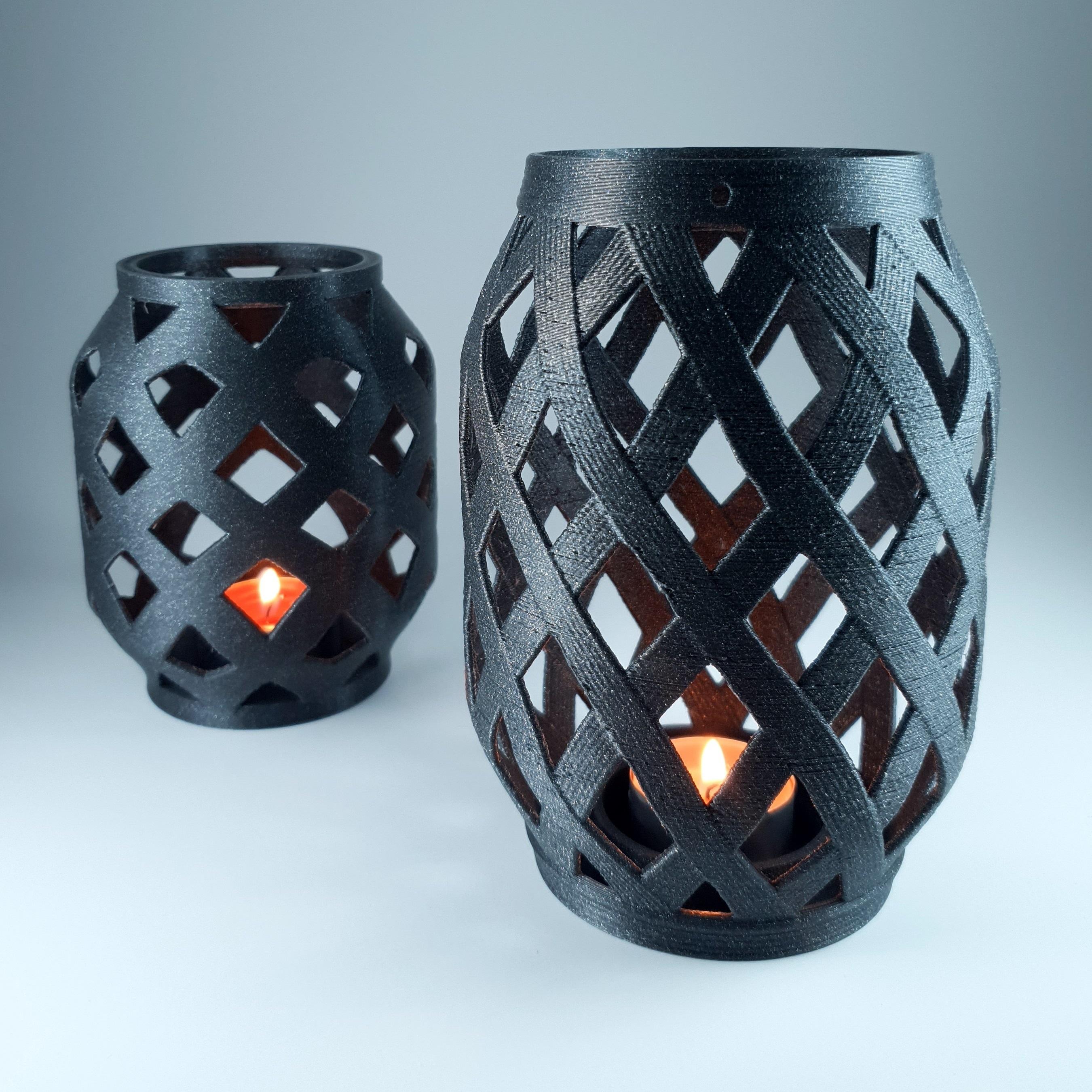 5.jpg Download free STL file Candle Lantern  • 3D printer template, 3D_Printing_Athens
