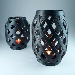 5.jpg Télécharger fichier STL gratuit Lanterne de bougie • Objet pour imprimante 3D, 3D_Printing_Athens