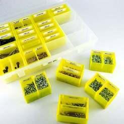 Télécharger plan imprimante 3D gatuit Petites boîtes à compartiments étiquetés, 3D_Printing_Athens