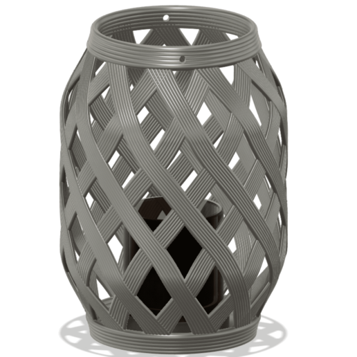 6.png Download free STL file Candle Lantern  • 3D printer template, 3D_Printing_Athens